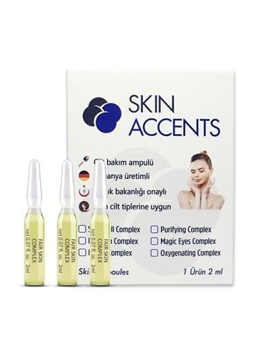 """Skin Accents """"Skin Accents Leke Giderici Aydınlatıcı Ampul - Fair Skin Complex  1 Ampul Renksiz"""